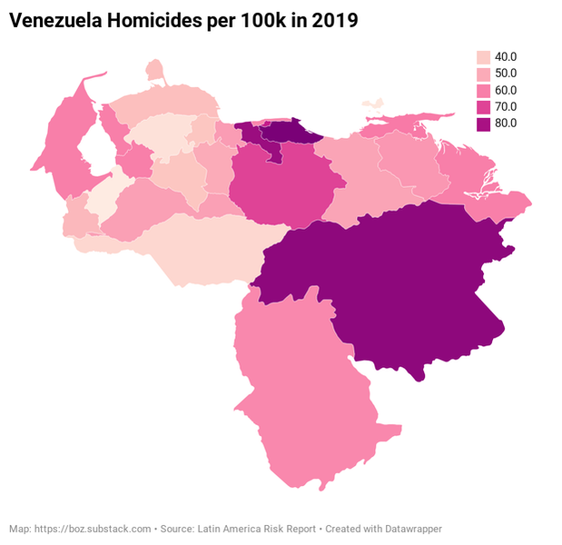 Venezuela security forces are a key part of the country's high homicide rate