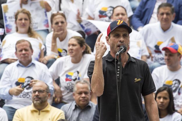 What Venezuela's Henrique Capriles Really Wants