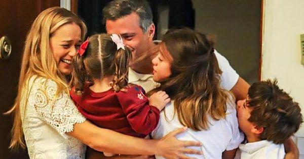 "Leopoldo López arrives in Madrid; Maduro accuses the Spanish ambassador of assisting a ""terrorist"""