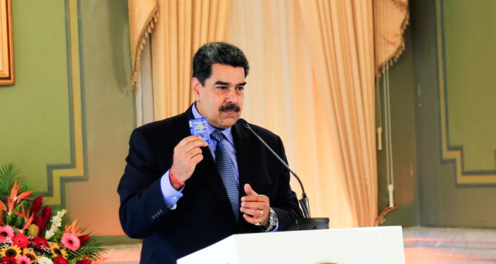 Maduro Accuses Spain of Becoming Conspiracy Centre Against Venezuela