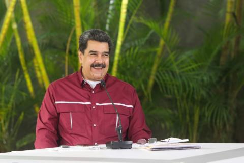 Maduro Hopes To Resume 'Decent' Dialogue With Biden Administration