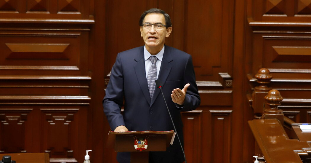 Peru President Is Impeached by Congress