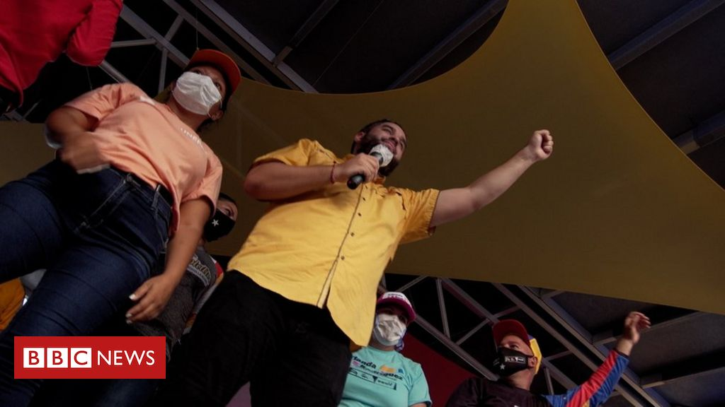 Venezuela election: 'There's no opposition here, just God'