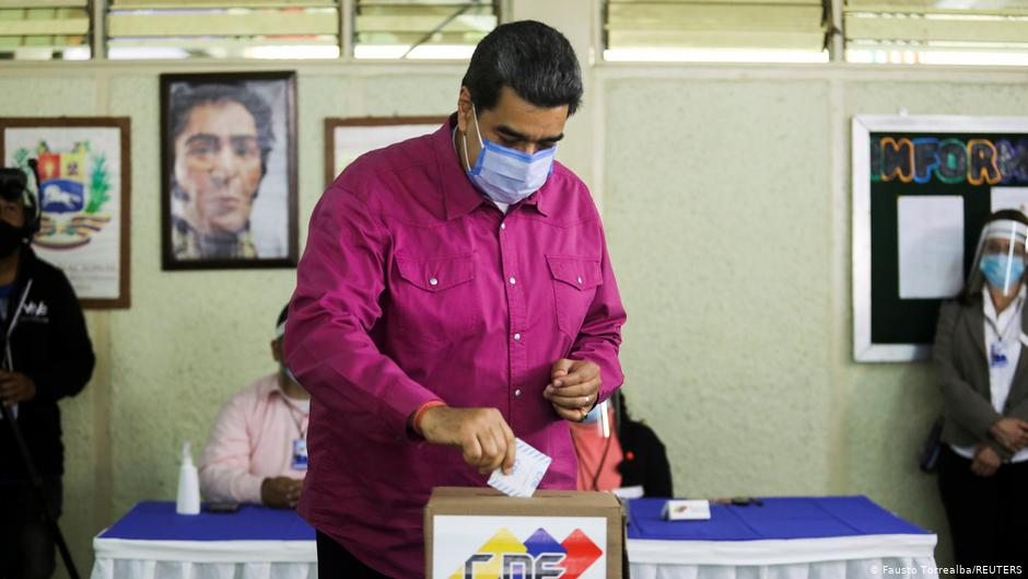 Opinion: There are no winners in the Venezuela election | DW | 08.12.2020