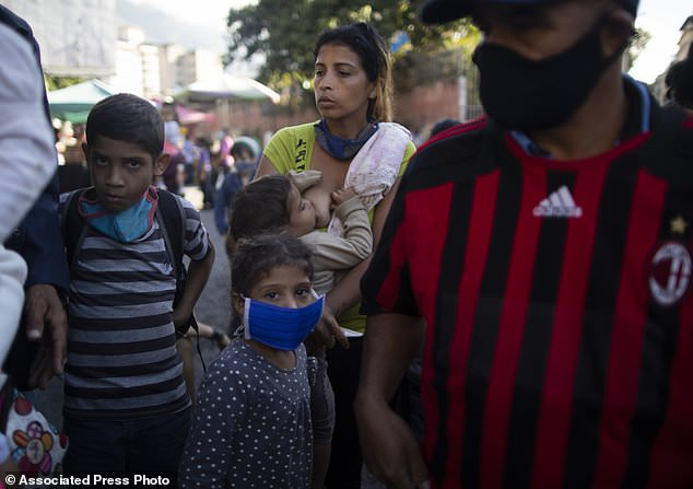 More and more are in need of Christmas charity in Venezuela