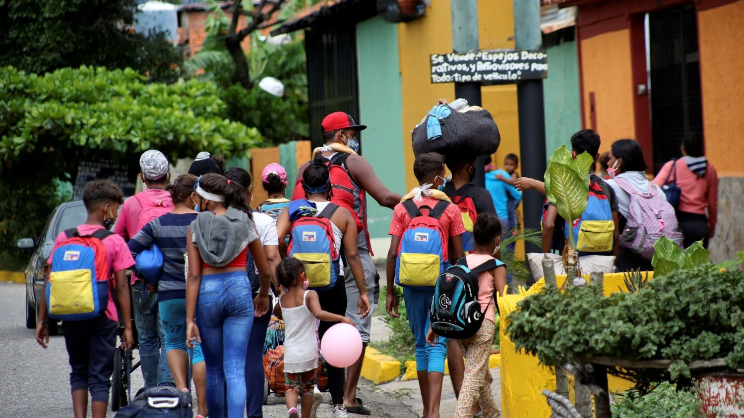 Pope prays for Venezuelans hit hard by Covid-19 and poverty –