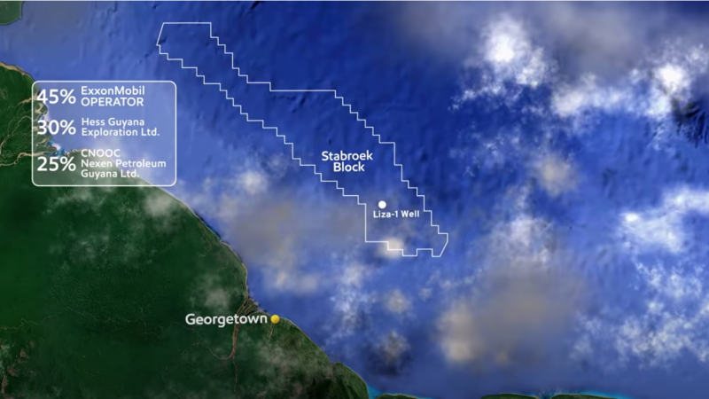 Venezuela refuels its territorial dispute with Guyana in area with massive offshore oil find · Global Voices