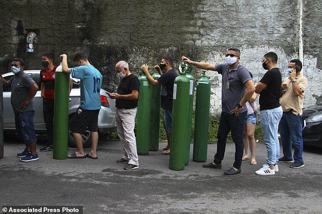 Venezuela's Maduro sends oxygen to Brazil amid virus spike