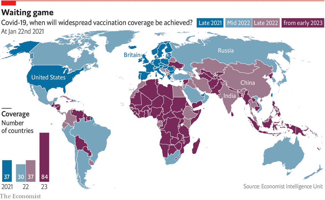 Vaccine nationalism means that poor countries will be left behind