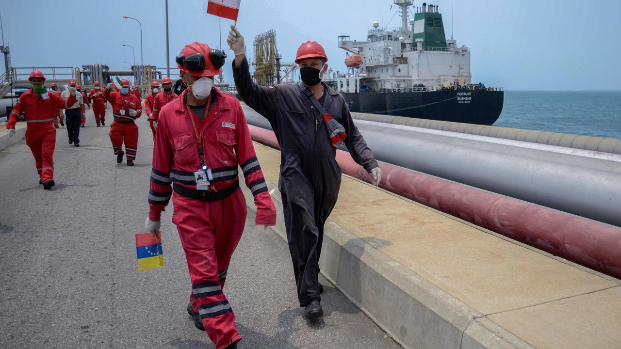 Venezuela jails officials for giving US oil data