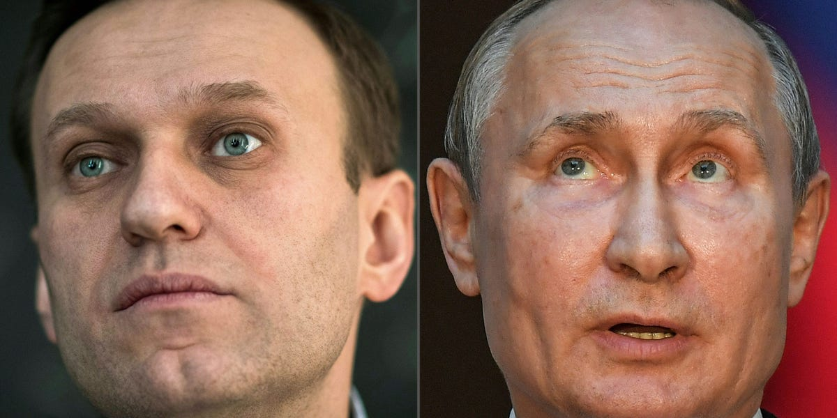 Putin plans to crush the Navalny protest movement, encouraged by that playbook working in Venezuela and Belarus, intelligence sources say