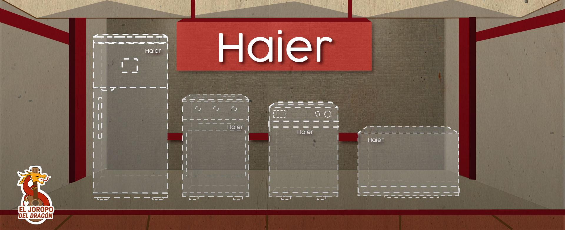 Haier's white goods factory in Venezuela draws blanks