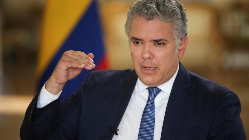 Colombia can best serve Venezuelans with legalization, Duque says