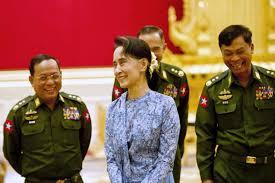 Los militares de Myanmar y Venezuela