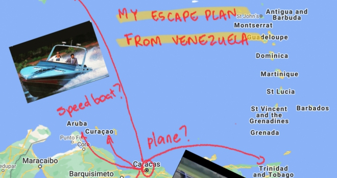 My three-day escape from Venezuela to join a London-based specialist lender