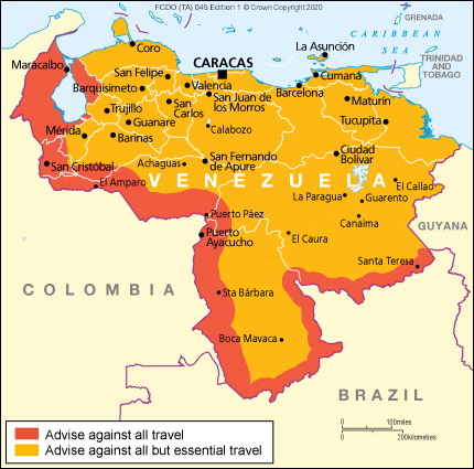 Venezuela travel advice