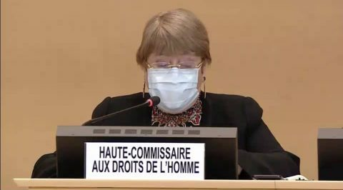 Bachelet on Deteriorating Human Rights in Venezuela