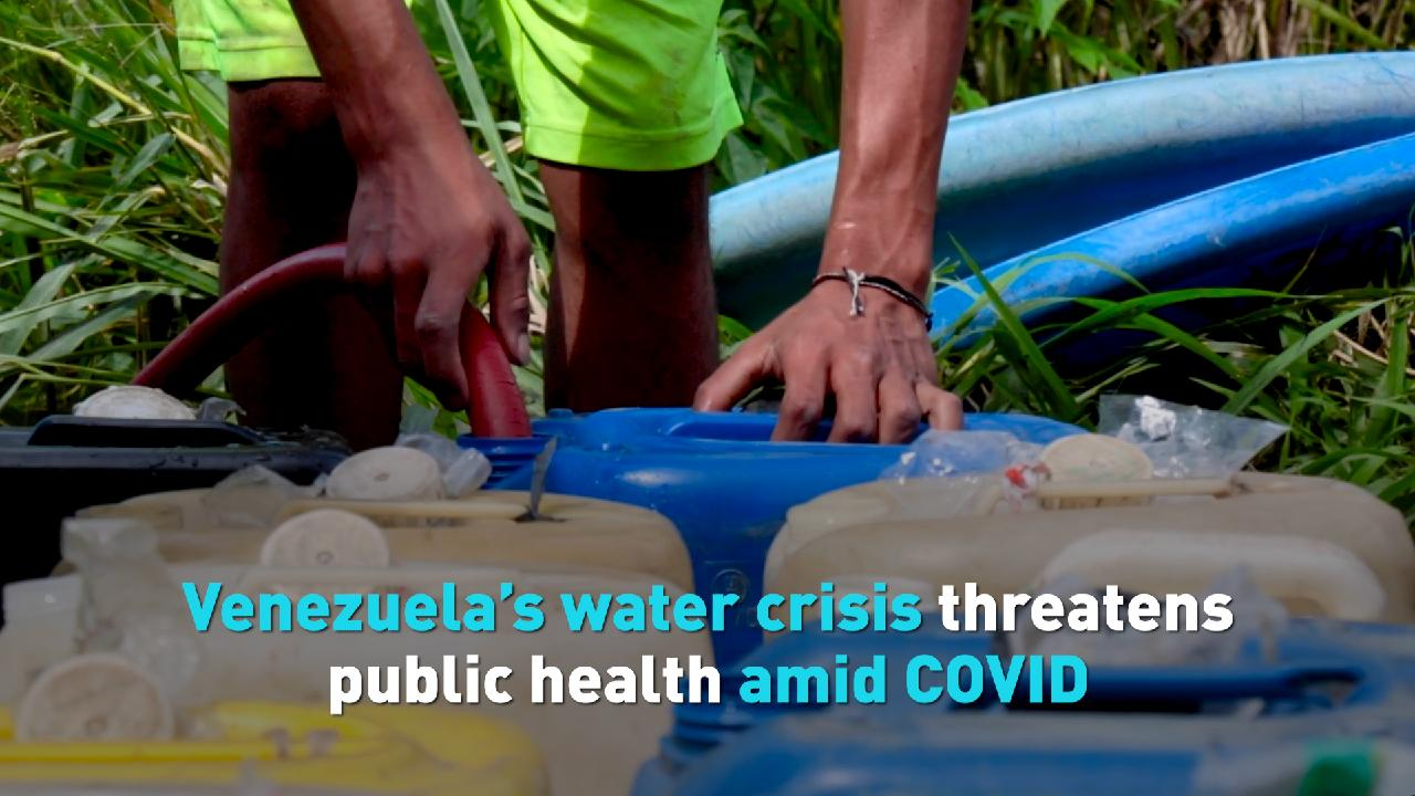 Venezuela's water crisis threatens public health amid COVID