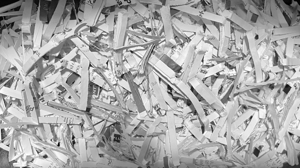 The Song of the Paper Shredders