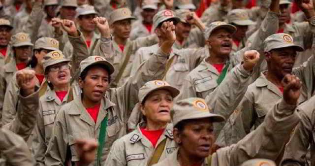 Régimen enviará mil milicianos a zona de conflicto en Apure