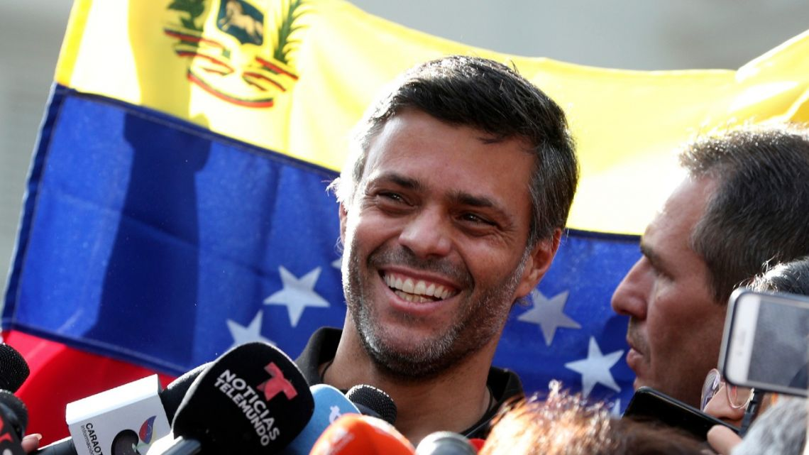 Venezuela asks Spain to extradite opposition leader Leopoldo López