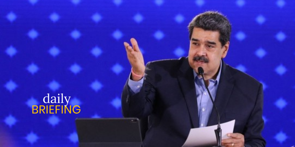 """Maduro: """"You Want To Negotiate? These Are My Conditions"""""""
