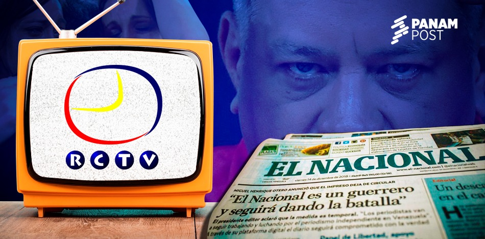 Venezuela, 14 años amordazada: del cierre de RCTV al embargo de El Nacional