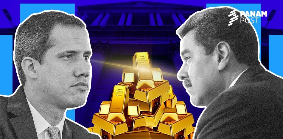 El oro venezolano se queda en Inglaterra hasta que haya elecciones libres
