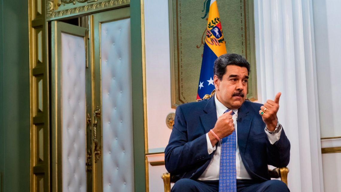 Venezuela's Maduro pleads for foreign capital, Biden deal in interview