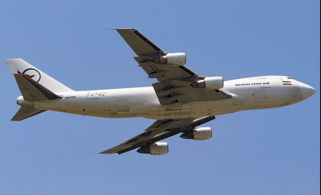 ¿Por qué aterrizó en Venezuela otro avión iraní sancionado por EEUU?