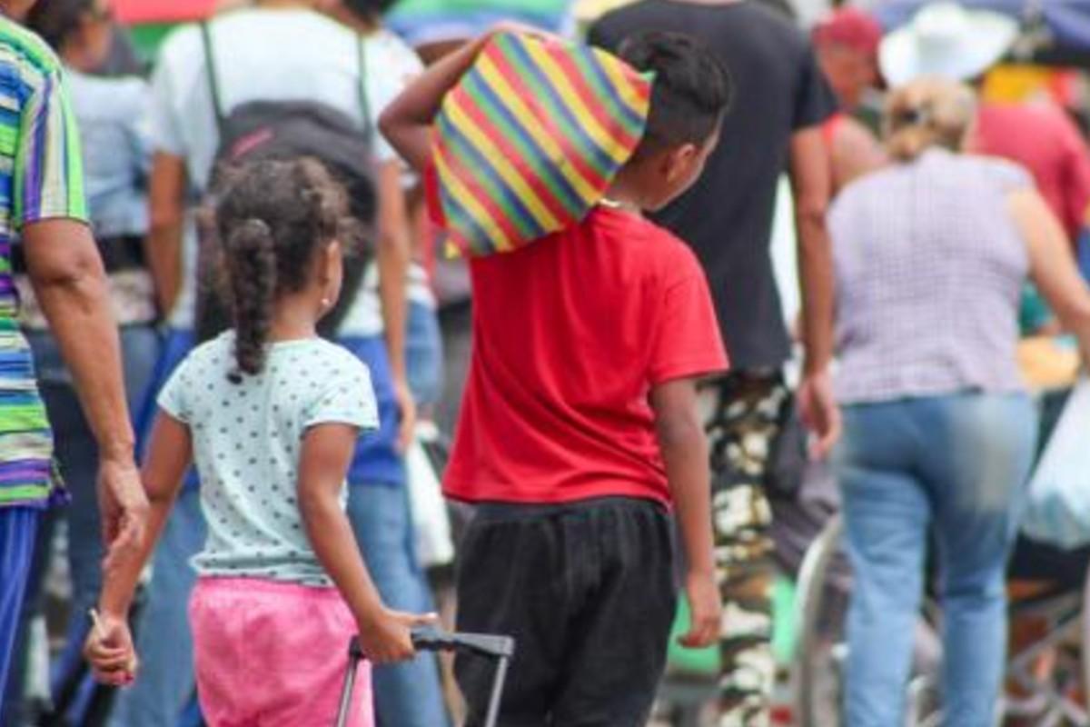 Acnur revela la crisis de los migrantes venezolanos: Uno de cada tres niños se acuesta con hambre