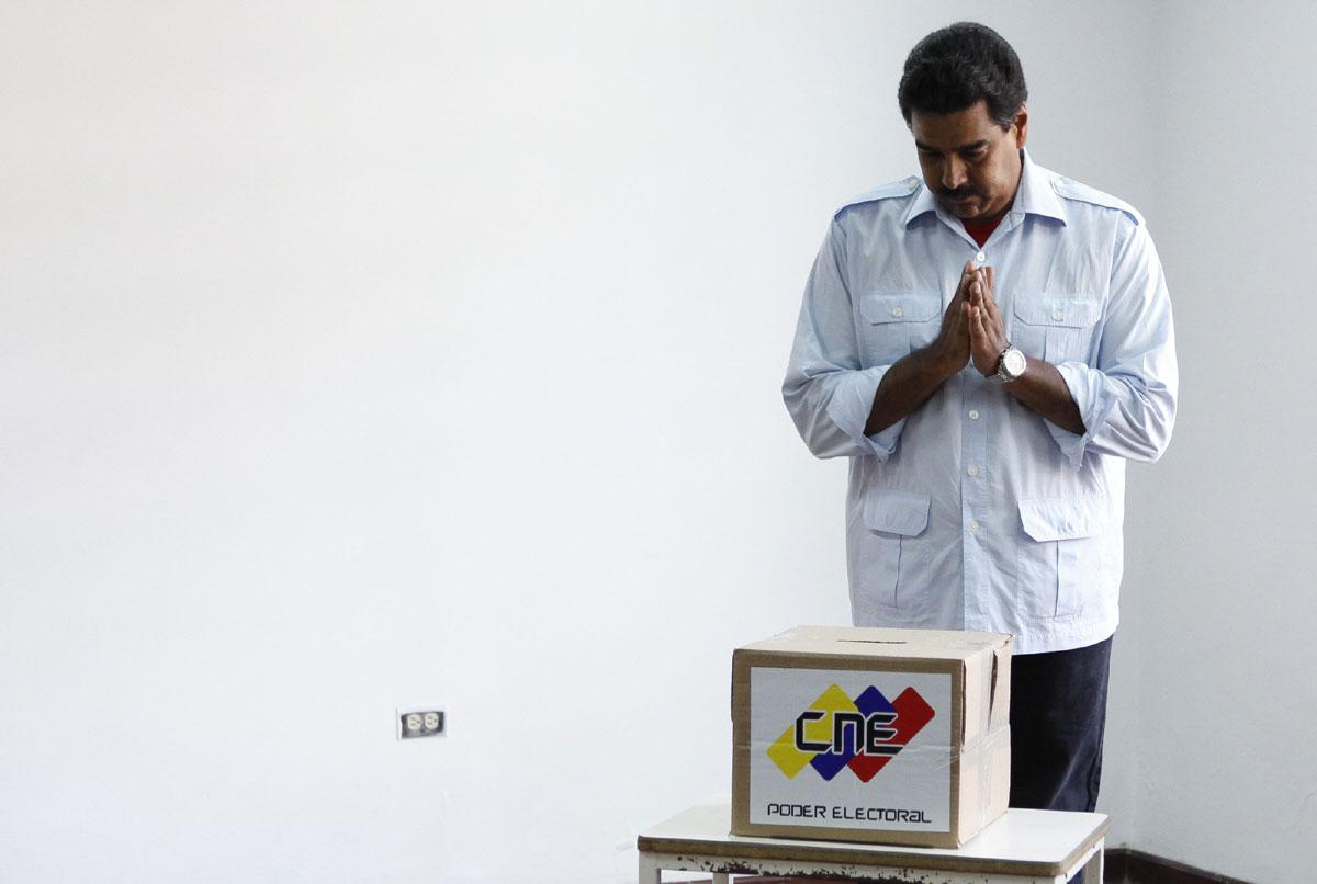 Maduro lanza la engañosa oferta de «ampliar garantías electorales»