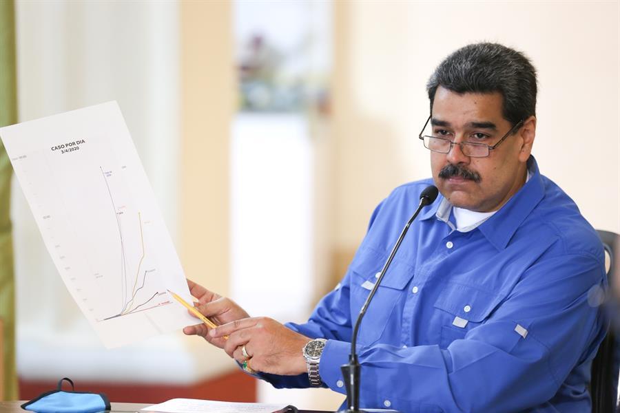 Maduro impone sede, más condiciones y ficha de cambio para «diálogo» con Guaidó